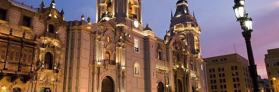 Night city tour through Lima's downtown - 3 hours